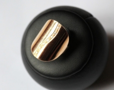 bague-or-incurvee-vague-diamants