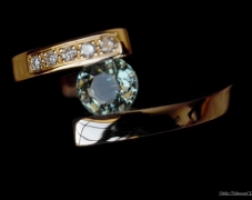 bague-or-jaune-diamants-tourmaline-