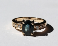 bague-or-saphir-diamants