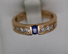 bague-saphir-diamants-4